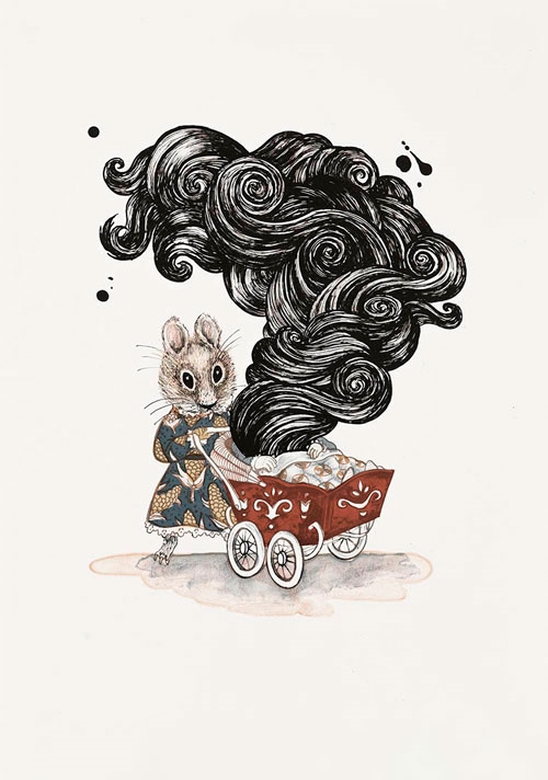 Mother mouse - Julie Nord